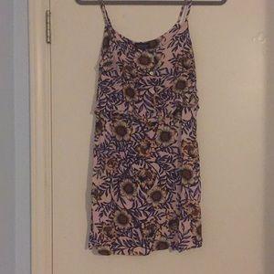 topshop floral sun dress